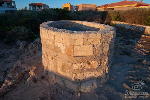 Bufador des cap de Banyos en Ciudadela, Menorca