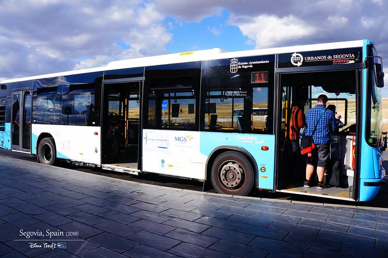 2018 Spain Segovia Guiomar 3 Bus 11
