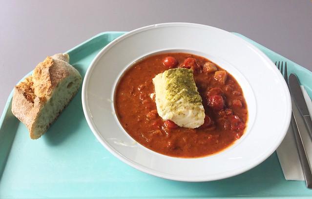 Codfish sicilian style / Kabeljau auf sizilianische Art