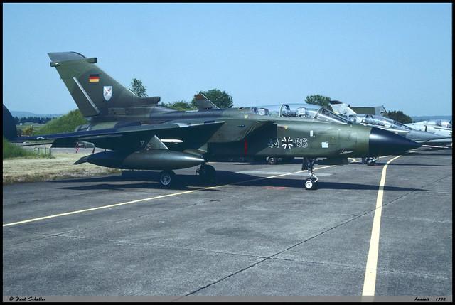 TORNADO IDS 44+66 GS123 JBG31 Luxeuil mai 1998