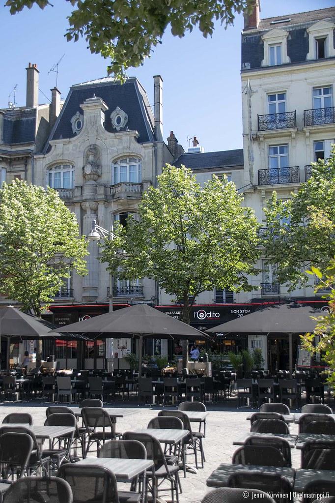 Reimsin keskustaa