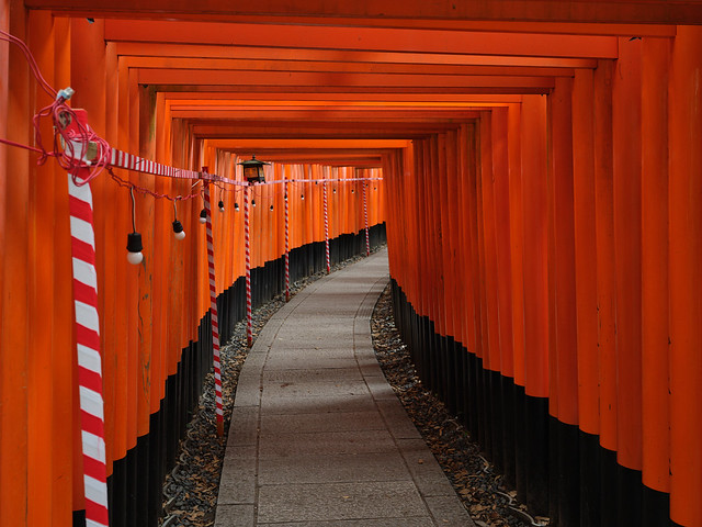 Fushimi Inari lonely souls - 3
