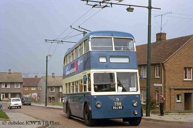 September 1965 BDJ86 B.U.T. 9611T at Holme Wood.
