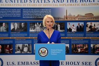 U.S. Diplomacy Center Exhibit Opening