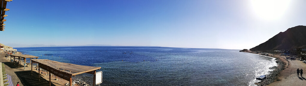 Panorama of Blue hole