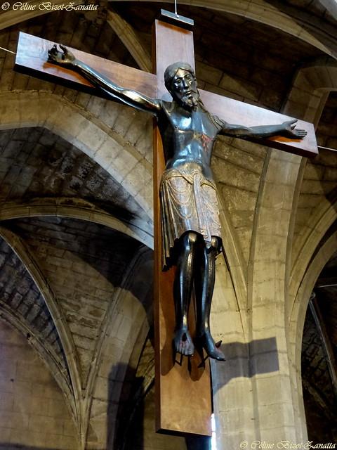 Le Christ noir ou le beau Dieu noir de Saint-Flour - Cantal - Auvergne - France - Europe