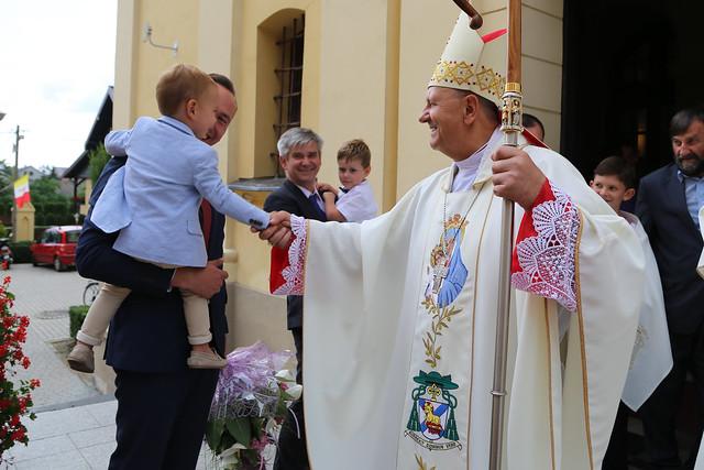 Msza Święta dziękczynna za pasterską posługę bp. Tadeusza Pikusa - Drohiczyn, 13 VII 2019 r.
