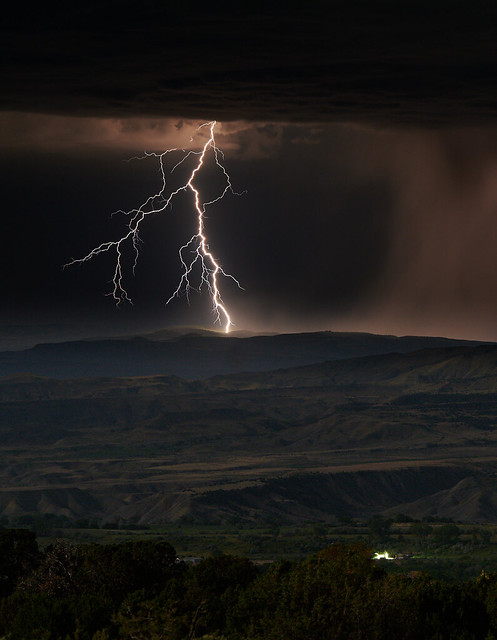 LIghtning in the Uncompahgre