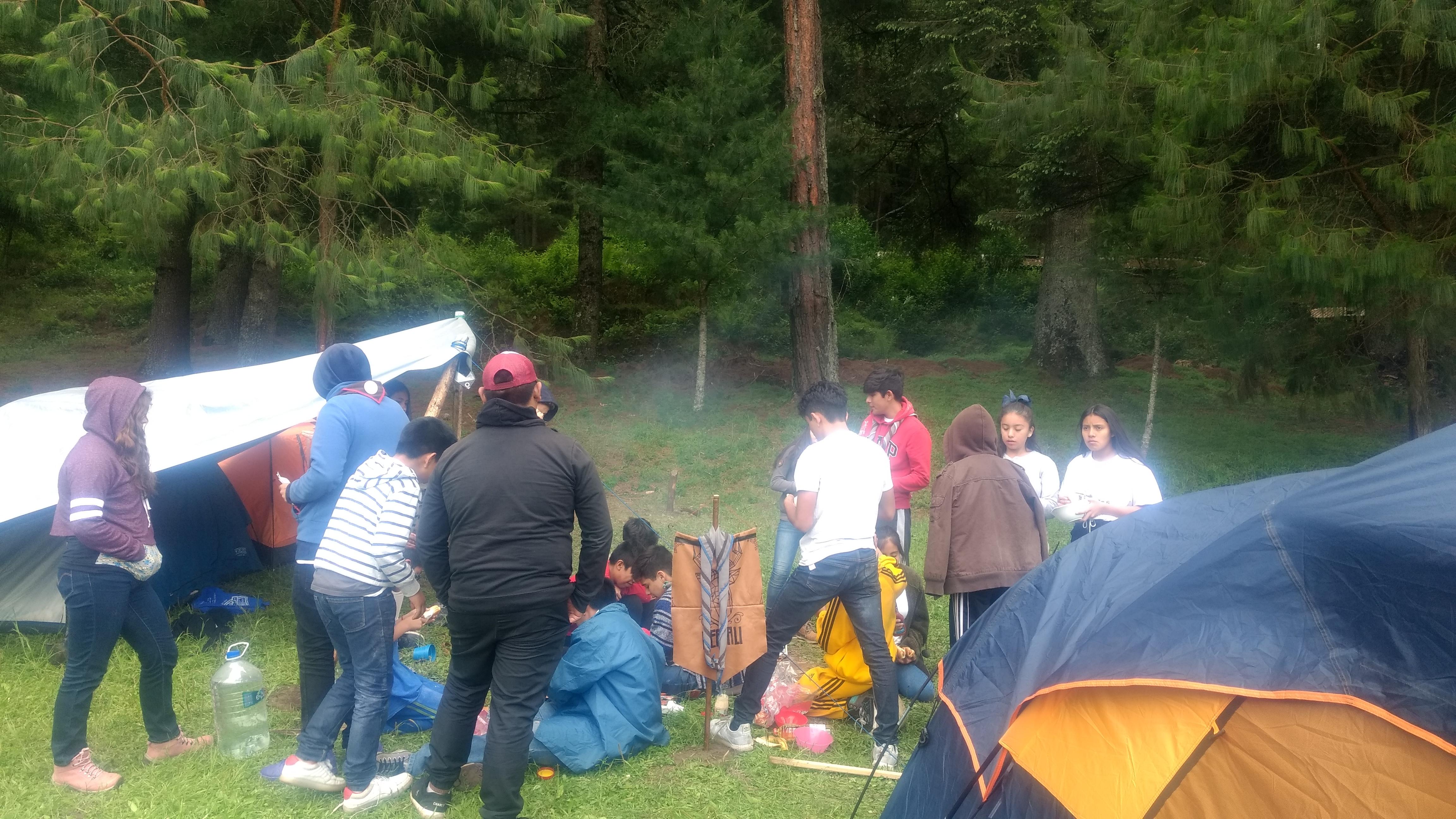 Campamento, Grupo Éxodo - 2019