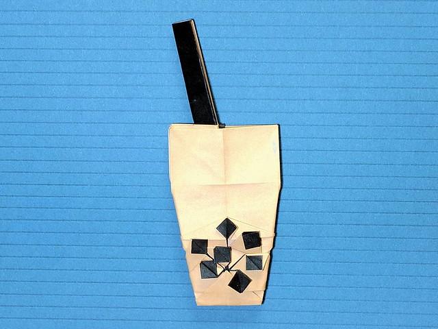 Bubble Tea origami