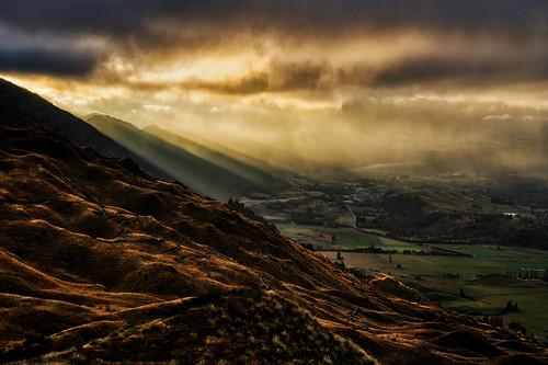 Moody Morning from Coronet Peak