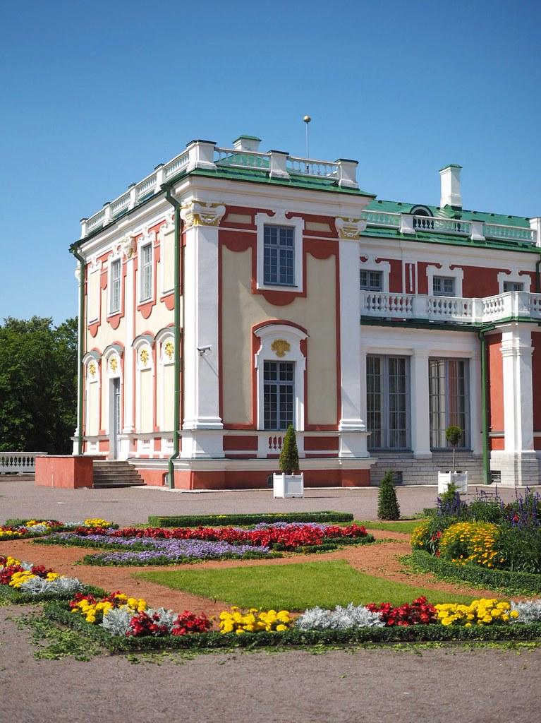 Kadriorg palatsi Tallinna