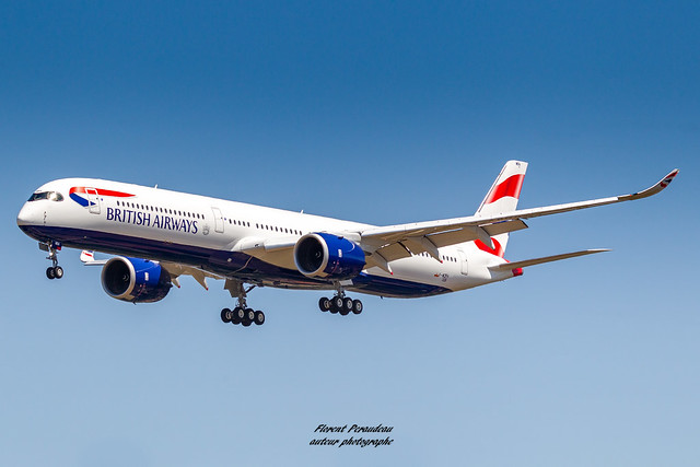 F-WZFH// G-XWBA British Airways Airbus A350-1041 MSN 326 Customer Acceptance Flight