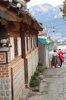A Walk Through Bukchon Hanok Village