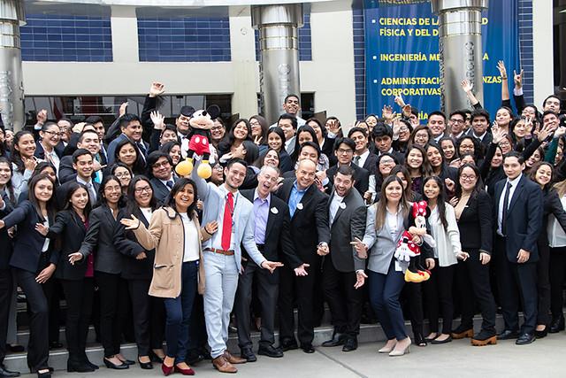 Más de 200 alumnos USIL pasaron por entrevistas laborales con representantes de Disney