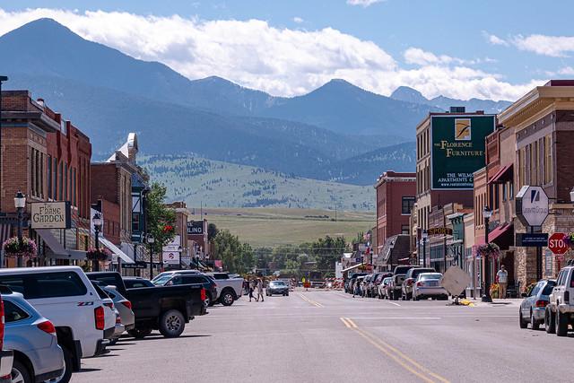 Downtown Livingston, Montana