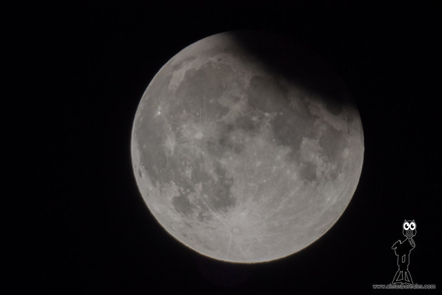 Eclipse parcial de Luna julio 2019