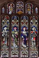 St Nicholas, St Paul, St Peter, St Edmund