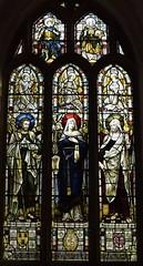 St Luke, Blessed Virgin and St James