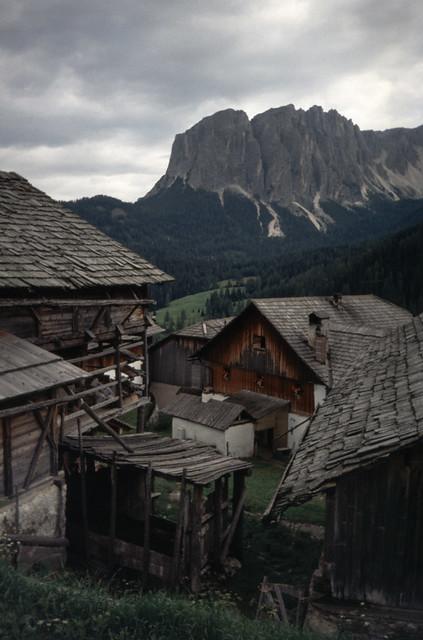 le Odle dalla Val Badia