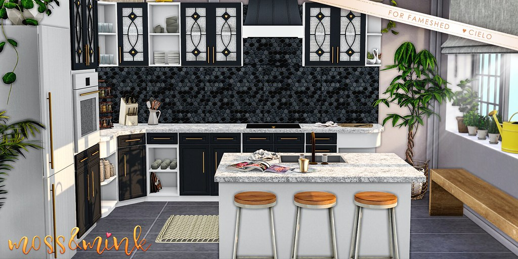 {moss&mink} Lilah Kitchen