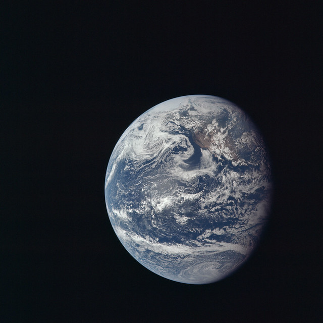 The Earth from Apollo 11