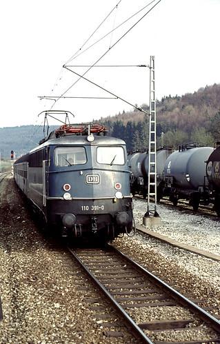 db br110 strecke4710 70er