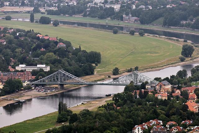 Blick vom Dresdner Fernsehturm - View from the Dresden TV tower
