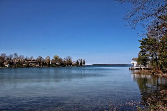 Orillia Ontario Canada ~ Leacock Museum ~ Boat House  ~ Heritage Site