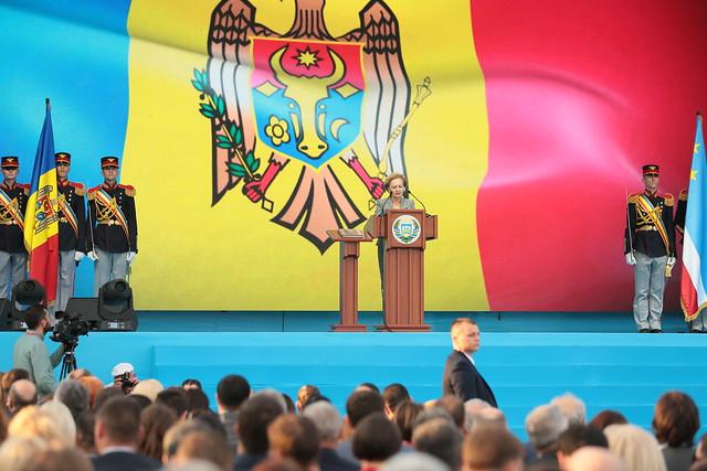 19.07.2019 Președintele Parlamentului a participat la ceremonia de inaugurare a bașcanului Găgăuziei, Irina Vlah
