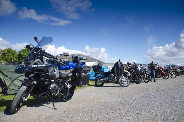Camping at Ullapool