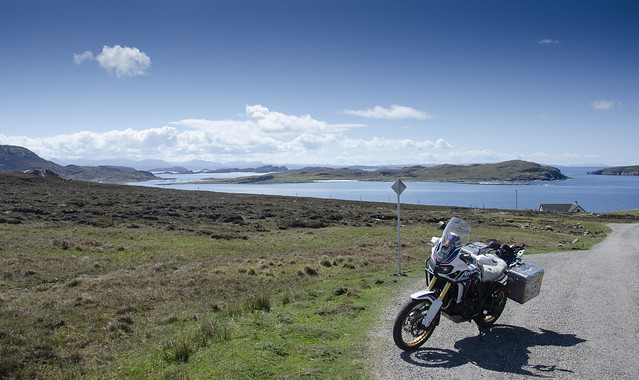 Africa Twin Outer Hebrides