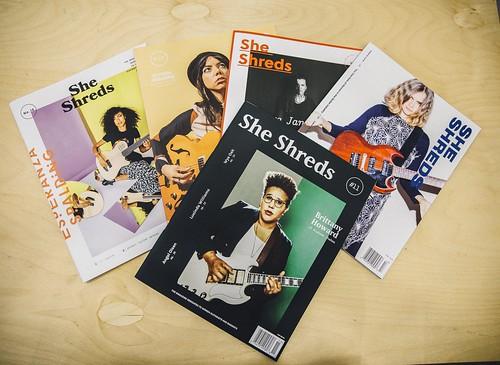 女性樂手的紀錄者 ─ She Shreds Magazine