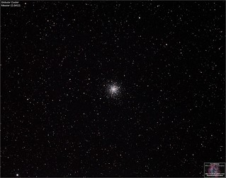 Globular Cluster Messier 12 in the Constellation Ophiuchus