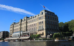 Amstel Hotel on the River Amstel in Amsterdam