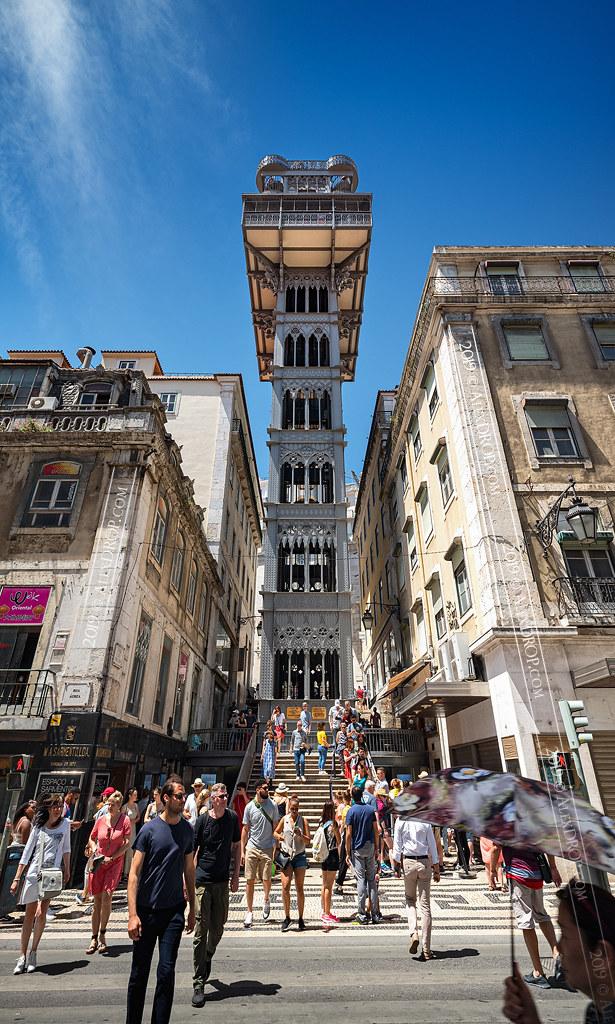 _DS16653 - The Santa Justa Lift | The Santa Justa Lift (Port… | Flickr
