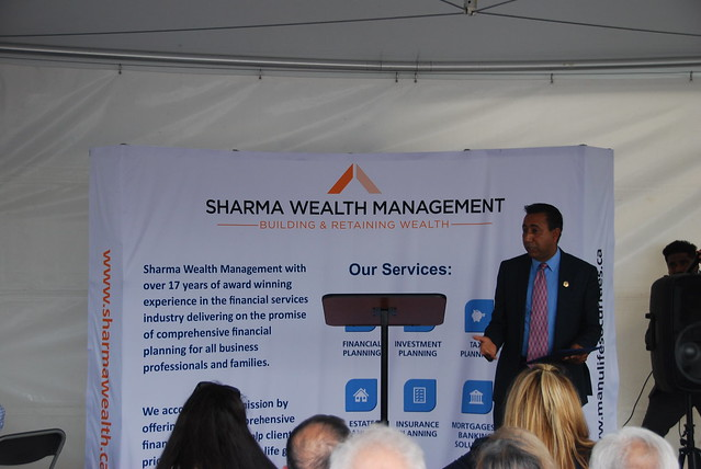 Grand Opening of Sharma Wealth Management