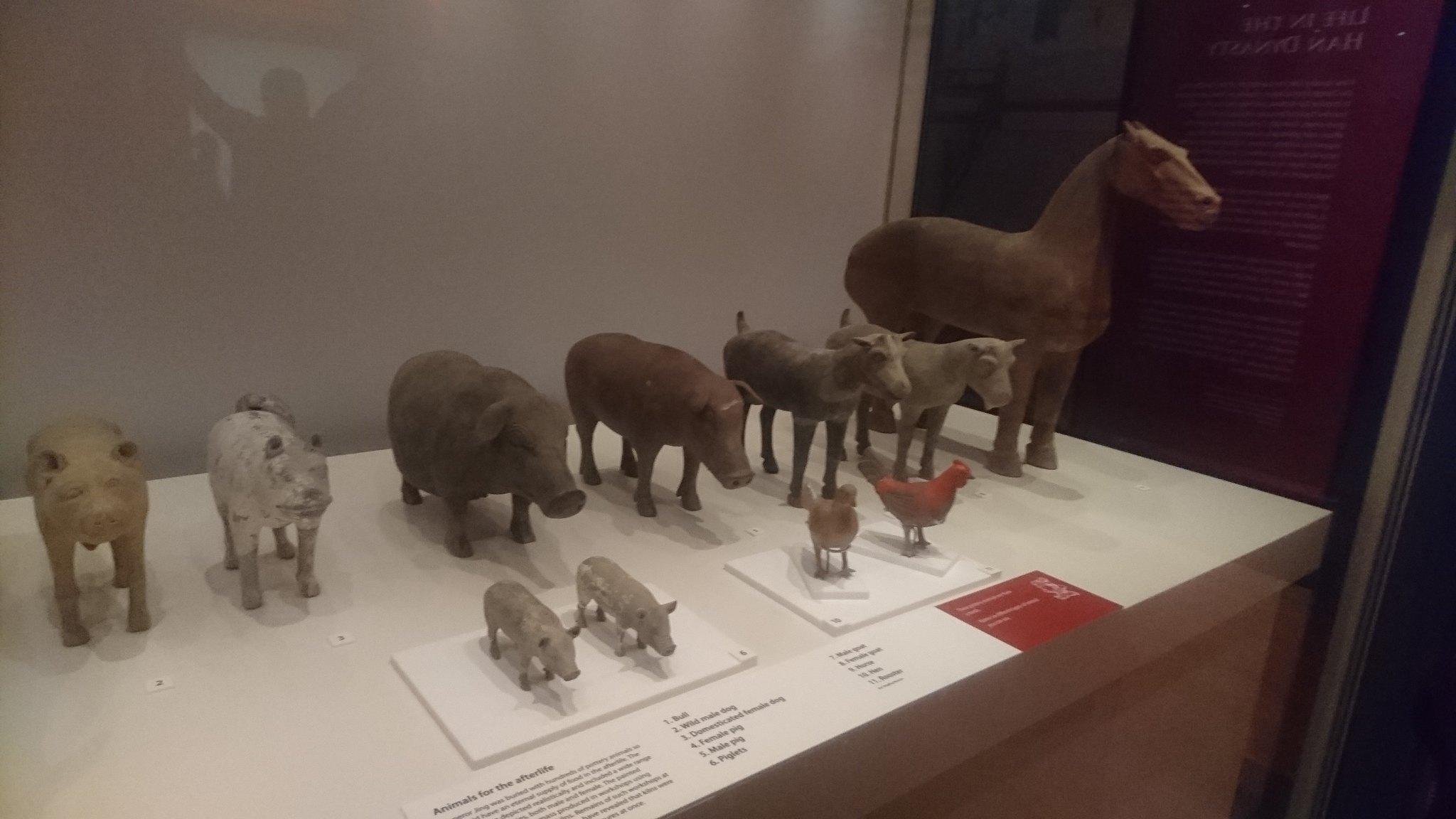 More terracotta animals