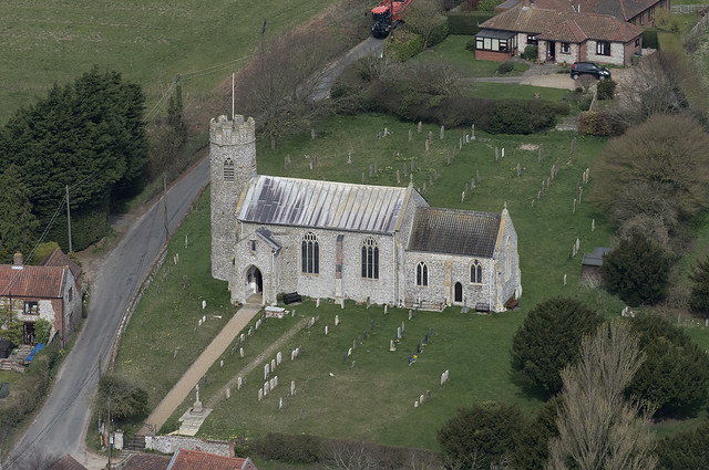 Aylmerton Church in north Norfolk