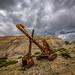 Excavator at a Nevada Mine
