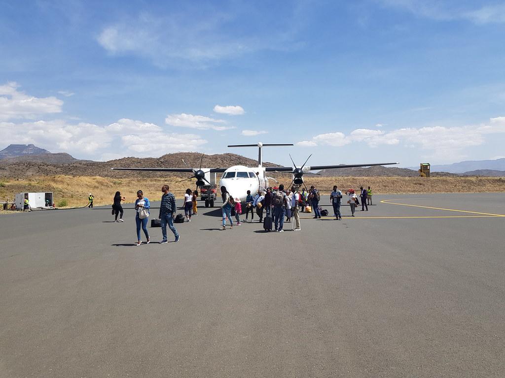 Lotnisko Lalibela Etiopia