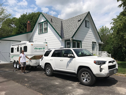 Carleton Place -All hooked up and loaded up