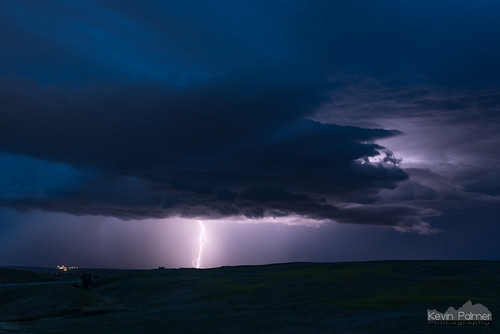 july summer storm stormy thunderstorm sky weather clouds night lightning electric blue twilight strike bolt sheridan wyoming tamron2470mmf28 nikond750 dark