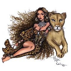#Beyonce x #Nala 💛#TheLionKing #TheGift #Disney