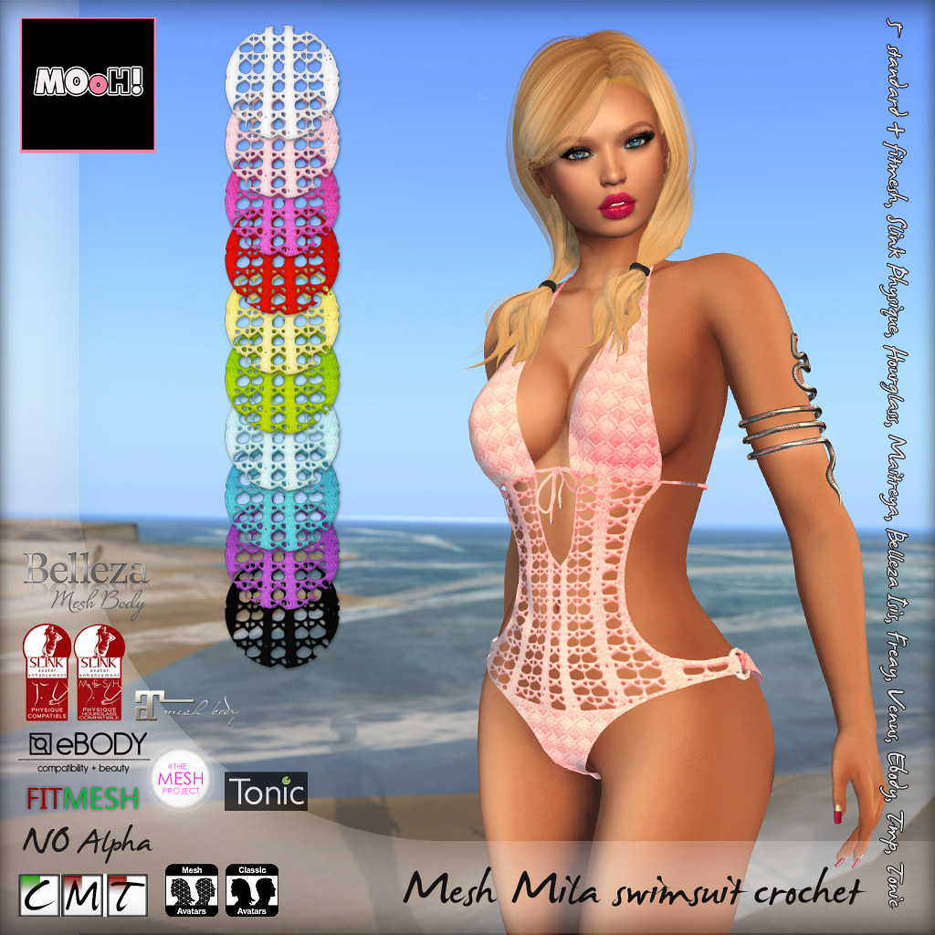 Mila swimsuit crochet