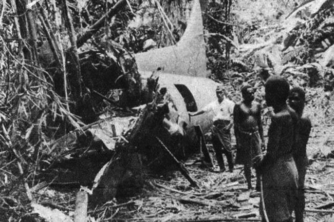 B-17 Taxpayer's Pride wreckage