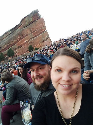 Iiro and I at Red Rocks Amphitheater