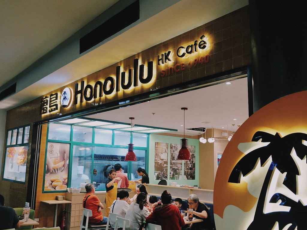 Honolulu Hong Kong Cafe Robinsons Manila