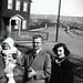 Dad (L) with Sister, Uncle Tom (C) & Aunt Dorothy,   Eynon St., Scranton, PA.   circa  1949   SAM_0146