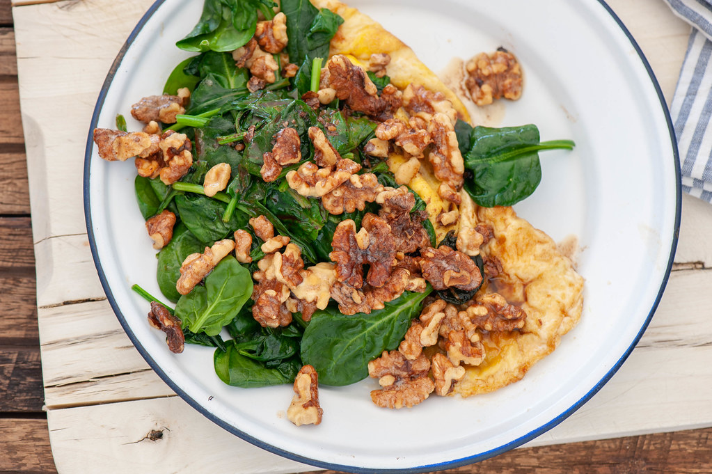 Walnut & Brown Butter Omelette
